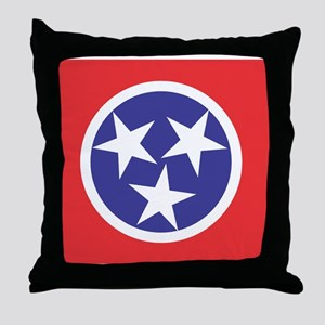 Tennessee Flag Throw Pillow