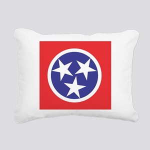 Tennessee Flag Rectangular Canvas Pillow