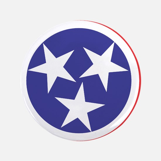 """Tennessee Flag 3.5"""" Button"""