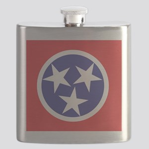 Tennessee Flag Flask