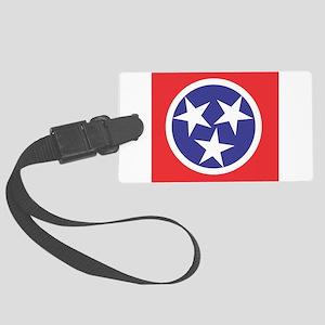 Tennessee Flag Luggage Tag