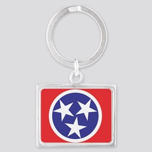 Tennessee Flag Keychains