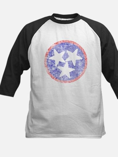 Faded Tennessee American Kids Baseball Jersey