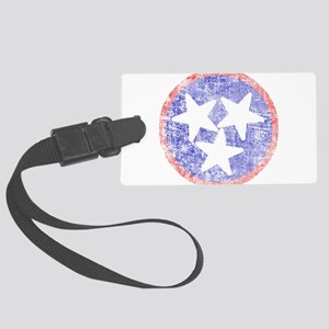 Faded Tennessee American Large Luggage Tag