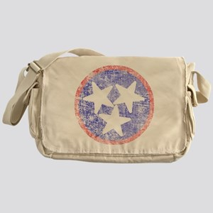 Faded Tennessee American Messenger Bag