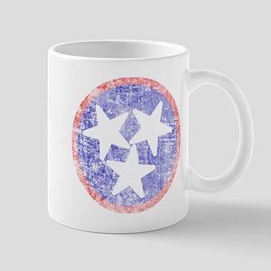 Faded Tennessee American Mug