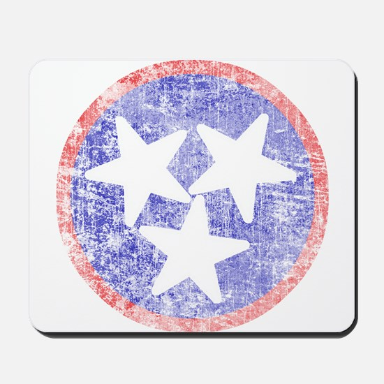Faded Tennessee American Mousepad