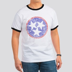 Faded Tennessee American Ringer T
