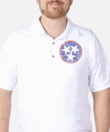 Faded Tennessee American Golf Shirt