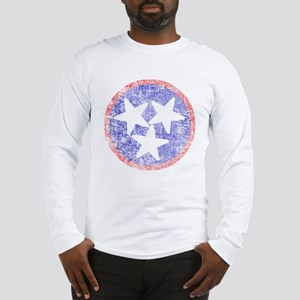 Faded Tennessee American Long Sleeve T-Shirt