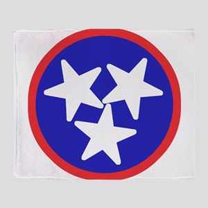 Tennessee American Throw Blanket
