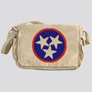 Tennessee American Messenger Bag