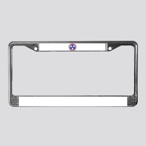 Captain Tennessee License Plate Frame