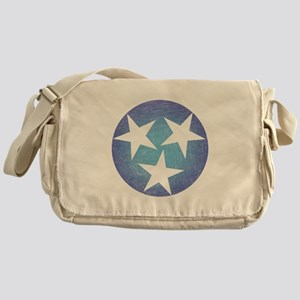 Cool Blue Tennessee Messenger Bag