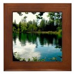 Camp Mather Nirvana Framed Tile