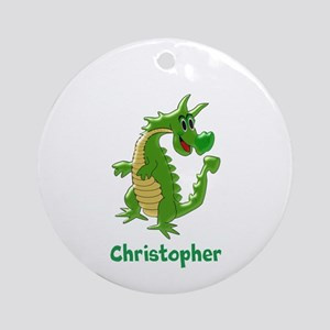 Dragon Just Add Name Ornament (Round)