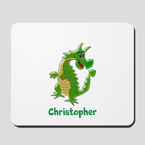 Dragon Just Add Name Mousepad