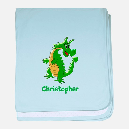 Dragon Just Add Name baby blanket