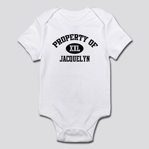 Property of Jacquelyn Infant Bodysuit