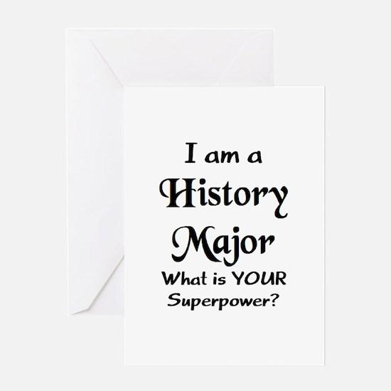 history major2 Greeting Card