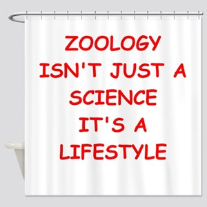 ZOOLOGY Shower Curtain