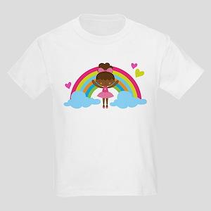 Ethnic Ballerina Kids Light T-Shirt
