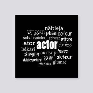 Actor Sticker