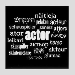 Actor Tile Coaster