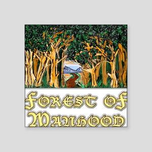 Forest of Manhood Sticker