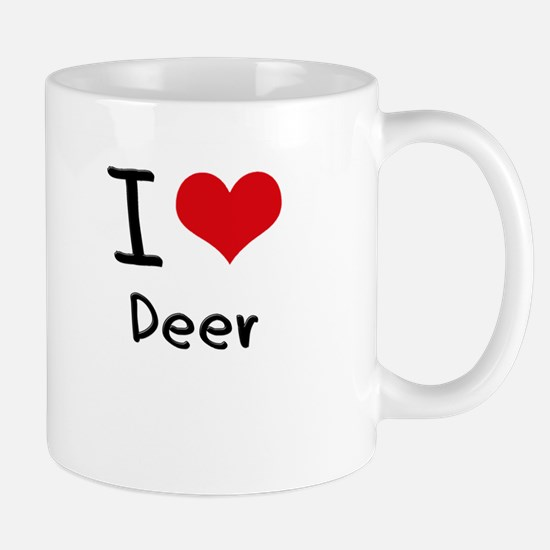 I Love Deer Mug