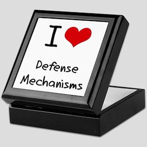 I Love Defense Mechanisms Keepsake Box
