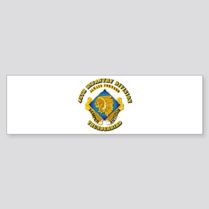 Army - 45th Infantry Division - DUI Sticker (Bumpe