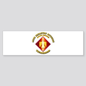 Army - 45th Infantry Division - SSI Sticker (Bumpe