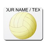 Custom Volleyball Mousepad