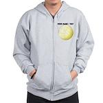 Custom Volleyball Zip Hoodie