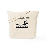 Custom Swimming Tote Bag