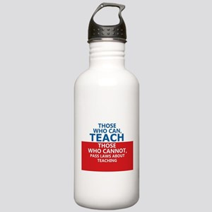 Those Who Can, Teach Stainless Water Bottle 1.0L