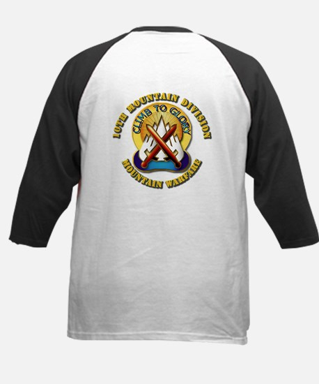 Emblem - 10th Mountain Division - SSI Tee