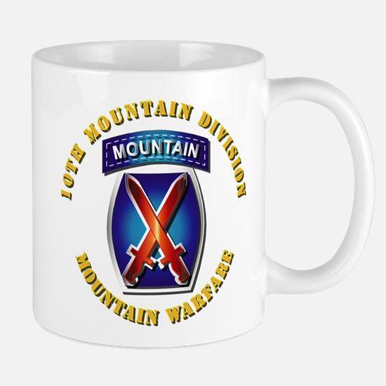 Emblem - 10th Mountain Division - SSI Mug