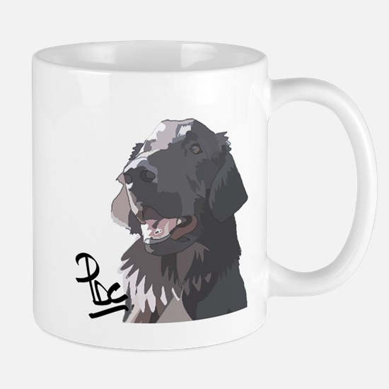 Flatcoated retriever PerryBGC Mug