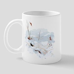 Ermine in the Snow Mug
