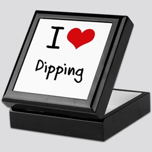 I Love Dipping Keepsake Box