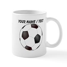 Custom Soccer Ball Mug