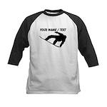Custom Snowboarding Silhouette Baseball Jersey