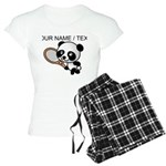 Custom Panda Tennis Player Pajamas