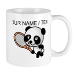 Custom Panda Tennis Player Mug