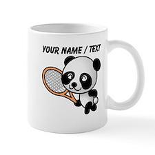Custom Panda Tennis Player Mug