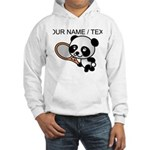 Custom Panda Tennis Player Hoodie