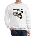Custom Panda Tennis Player Sweatshirt