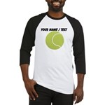 Custom Tennis Ball Baseball Jersey